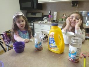 Sprinkle Pancake Ingredients