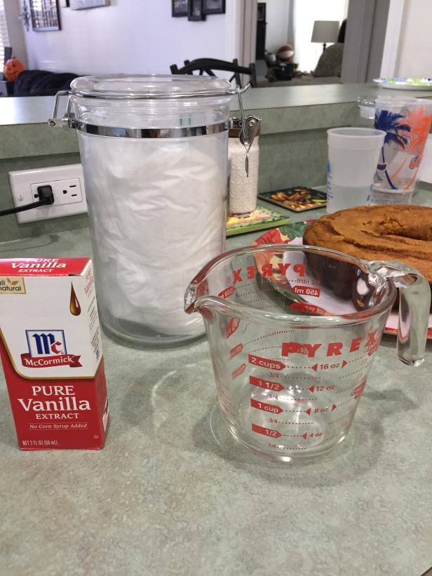 Vanilla Sugar Glaze Icing