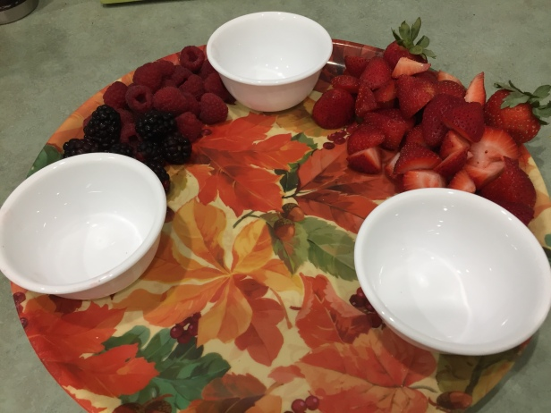 Fall Brunch Tray Fun To Set Up and Fun To Share