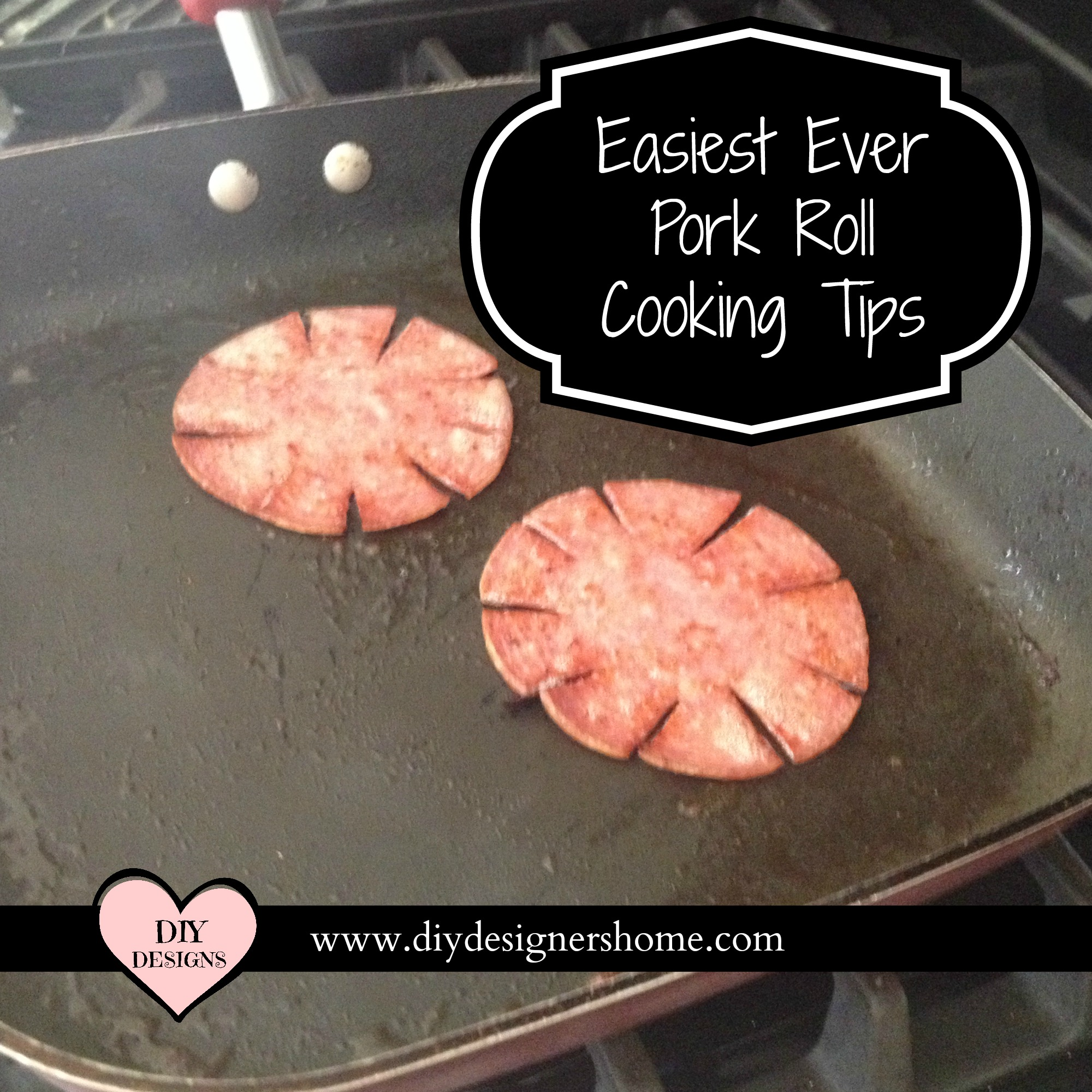 How To Cook Pork Roll