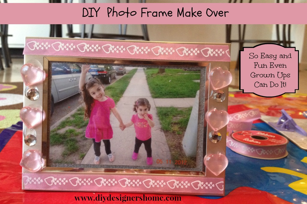 DIY Photo Frame Love