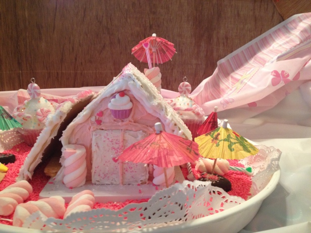 Valentine's Day Cookie House Built With A Lot Of Sugar and A Lot Of Love