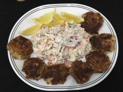 Fish Cake Platter Easy Recipe