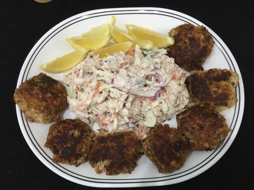 Fish Cake Platter Easy Recipe