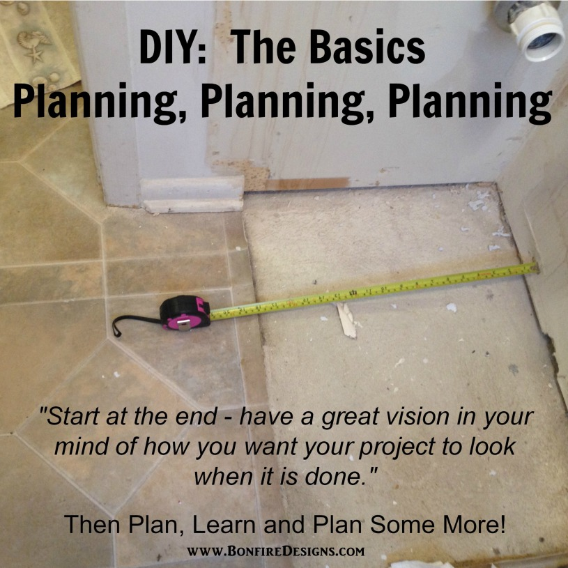 DIY Do It Yourself Plan Basics